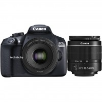 Canon EOS 1300D Double Kit 18-55mm III + 50mm f/1.8 STM