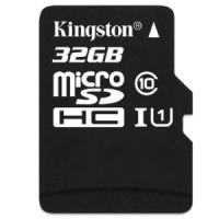 Kingston MicroSDHC 32Gb Class 10 + SD adapter