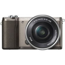 Sony Alpha A5100L Kit 16-50mm коричневый