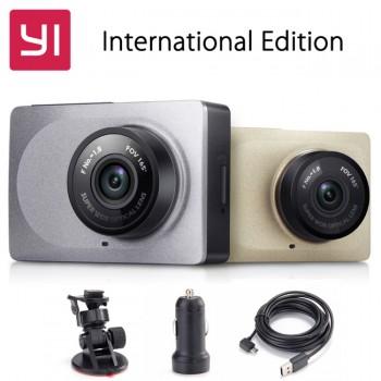 Автомобильный видеорегистратор Xiaomi Yi Smart Dash Camera Grey Серый цвет